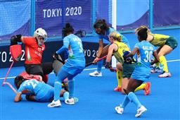 Goalkeeper Savita Punia's 9 key saves and Gurjit Kaur's 22nd-minute goal help India get historic victory