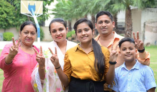 Covid no hurdle: Mehak tops Jalandhar district with 99.6%