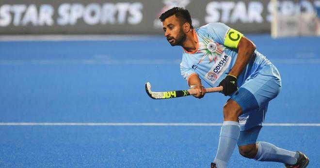 Jalandhar coach Avtar Singh who trained Indian hockey team captain Manpreet Singh elated
