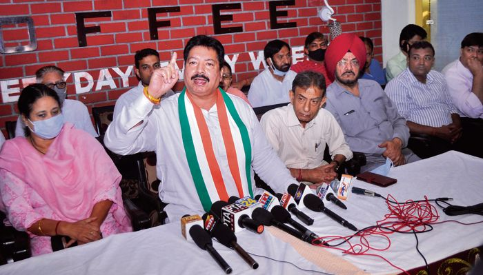 Discord among Patiala city Cong leaders fails to die down, fresh allegations