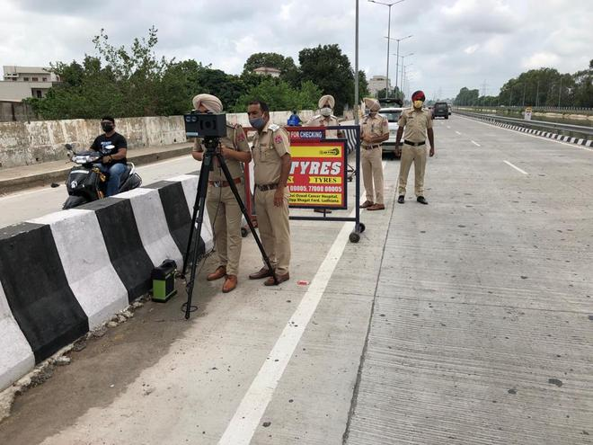 Now, e-challan for overspeeding in Ludhiana