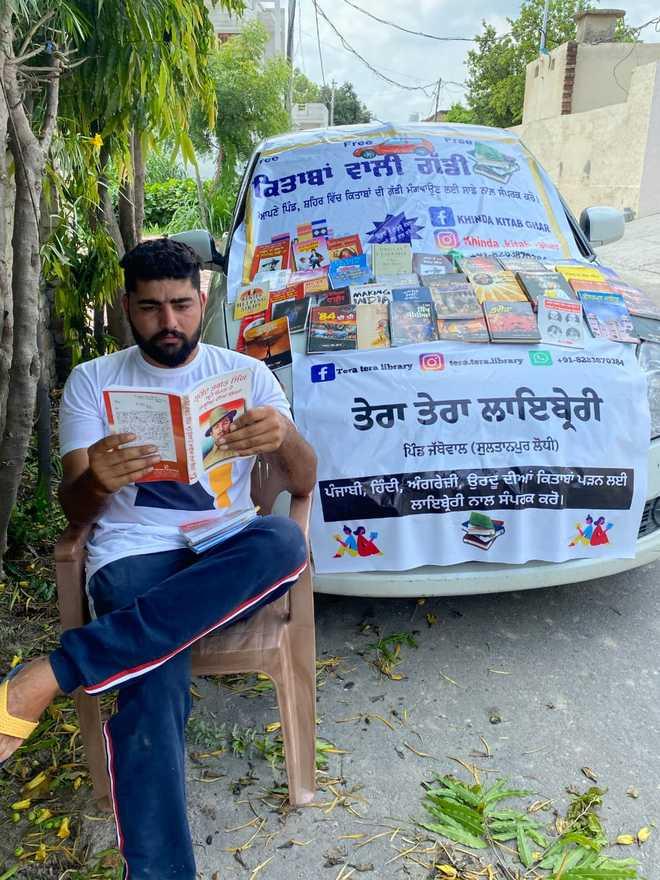 'Kitaba Waali Gaddi' hits roads in Sultanpur Lodhi