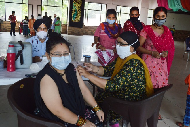 1,425 jabbed at camp for pregnant women in Ludhiana
