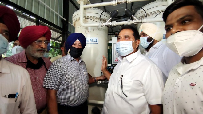 Oxygen plant comes up at Amritsar GMC