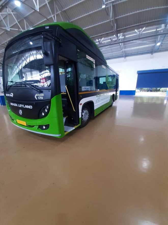 Chandigarh gets first electric bus