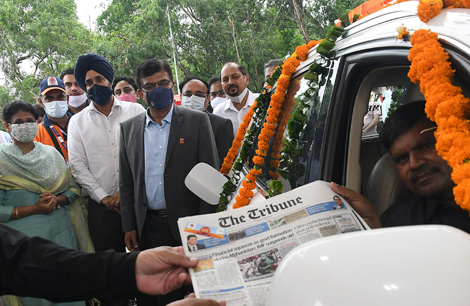 CITCO opens filling station in Industrial Area, Phase 1, Chandigarh