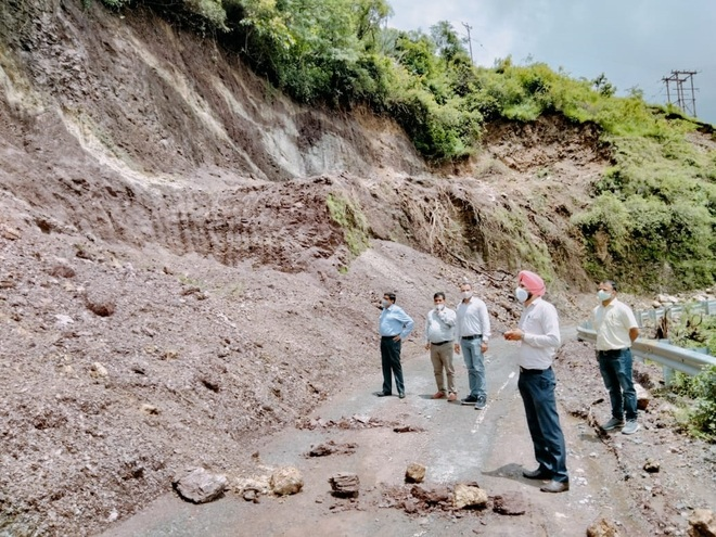 Use of heavy machines may have caused Shillai landslip: Geologists