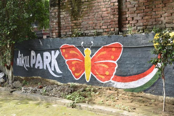 जालंधर के निक्कू पार्क को आकर्षक दीवार चित्रों के साथ नया रूप दिया गया है