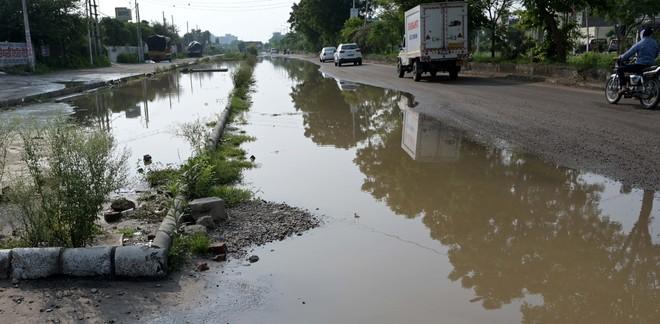 Rain pours misery forLudhiana city residents