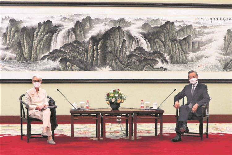 US seeks stability, predictability in ties with China