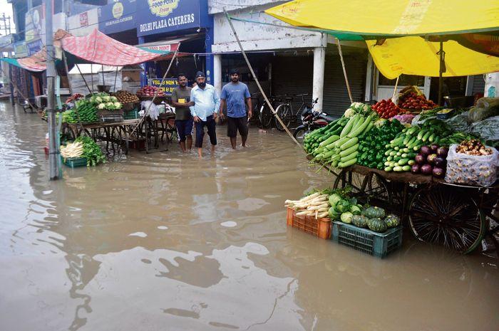 Rain leaves Royal City Patiala in deep waters