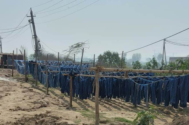 Notices served on 42 illegal Sonepat denim-dyeing units