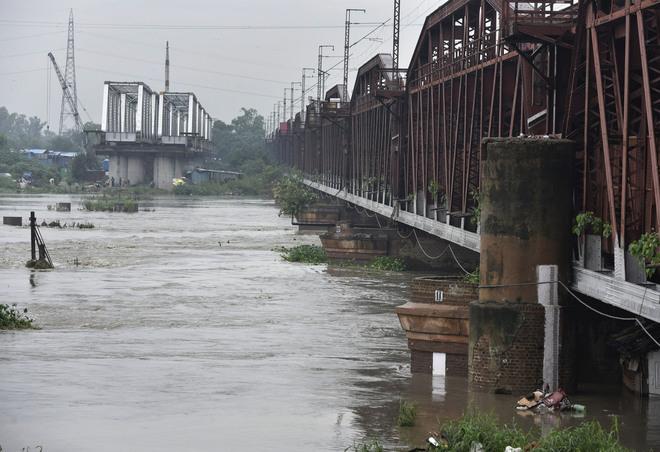 Water level in Yamuna up again