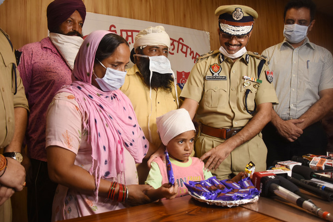 Kidnapped child rescued from forest, servant held in Ludhiana