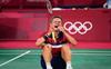 Denmark's Axelsen bags men's singles gold