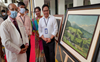 PGI faculty members display paintings