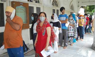 Second wave of Covid ebbing in Amritsar