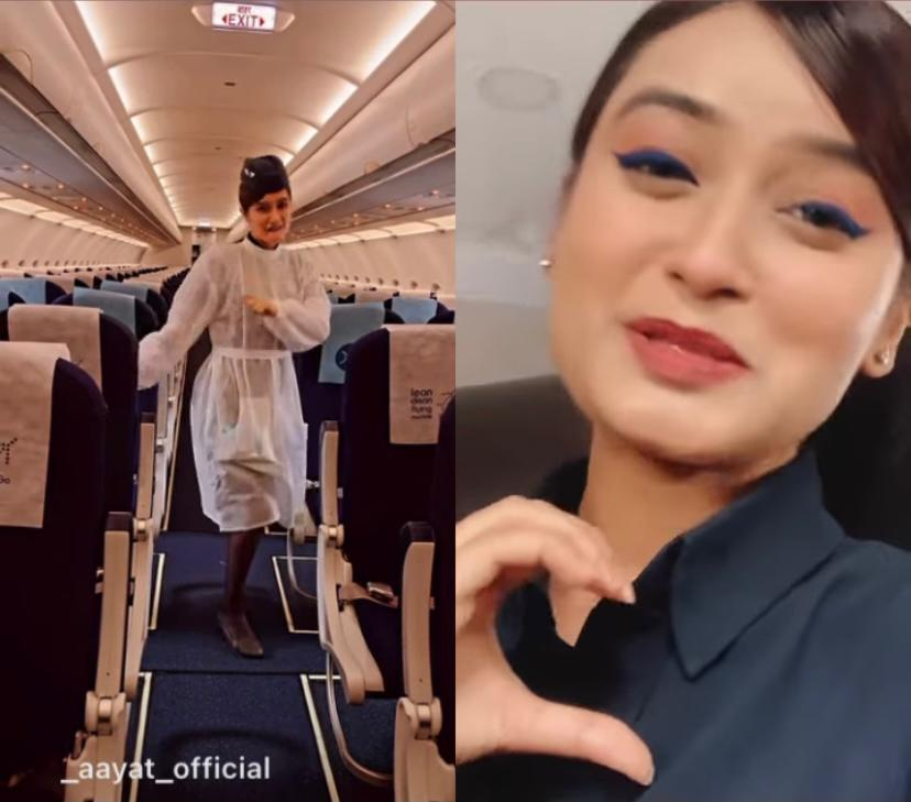 IndiGo air hostess who danced to Manike Mage Hithe says thank you as viral video gets 60 million views in less than a month. Watch