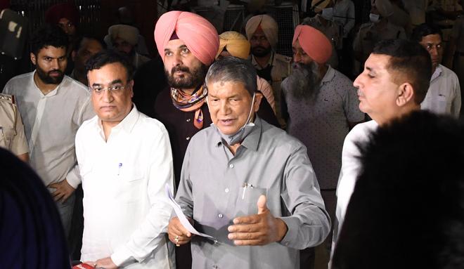 Punjab Congress Legislature Party Reconvened Today To zero in    on successor to Capt Amarinder: The Tribune India