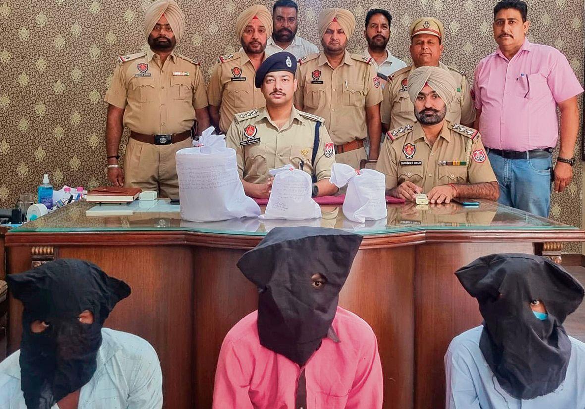Three held with 4.5-kg opium in Patiala