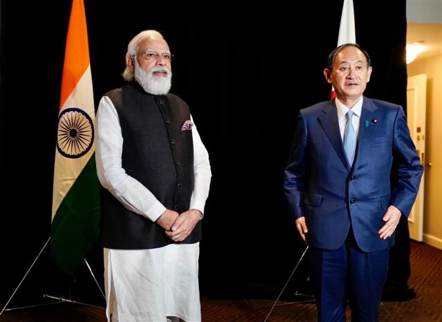 Modi, Japanese PM reaffirm commitment for free, open Indo-Pacific ahead of Quad meeting