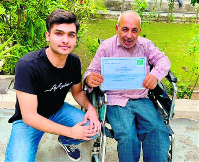 Class XII student of Yadavindra Public School, Patiala, transforming lives of differently abled