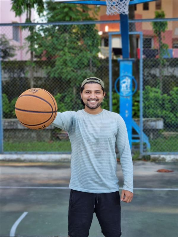 Govinda Sharma's name Remains synonymous with an excellent Basketball player and coach of international repute