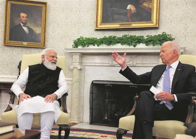 India-US ties set for transformative decade: PM at bilateral with Biden