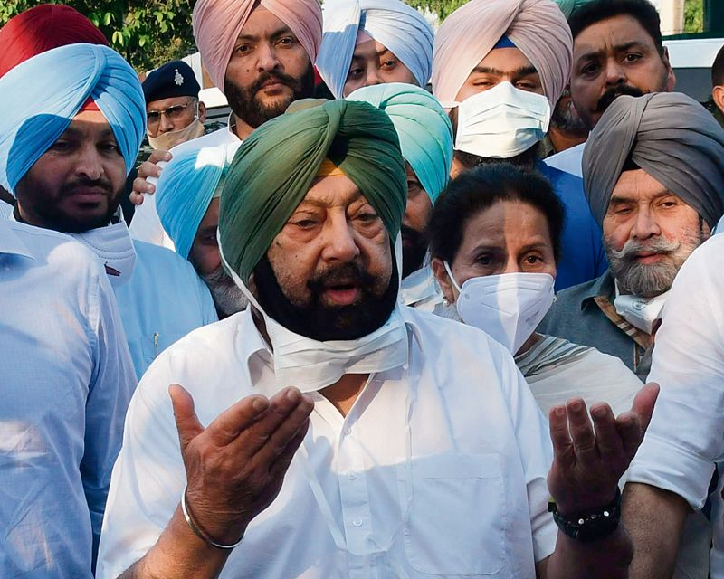 Capt Amarinder: 'He is incompetent, will oppose any move to make Navjot Sidhu CM'