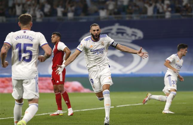 Benzema lights up  Madrid's homecoming