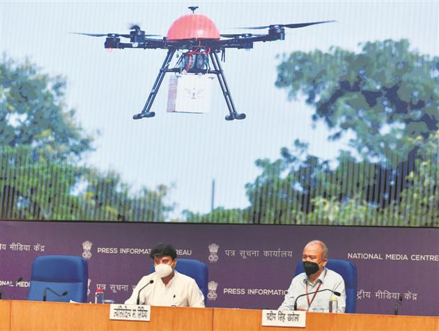 Jyotiraditya Scindia: Drone industry to reach Rs 15,000 crore turnover by 2026