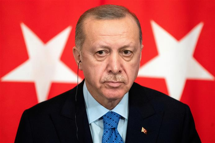 Turkish President Erdogan again makes reference to Kashmir in UN General Assembly address