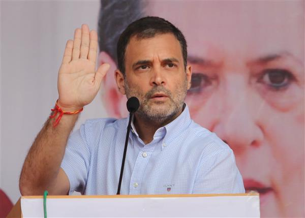 RSS, BJP trying to break J&K's composite culture: Rahul Gandhi