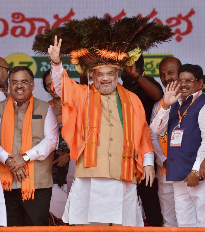Cong can't be alternative to TRS; BJP alone can: Home Minister