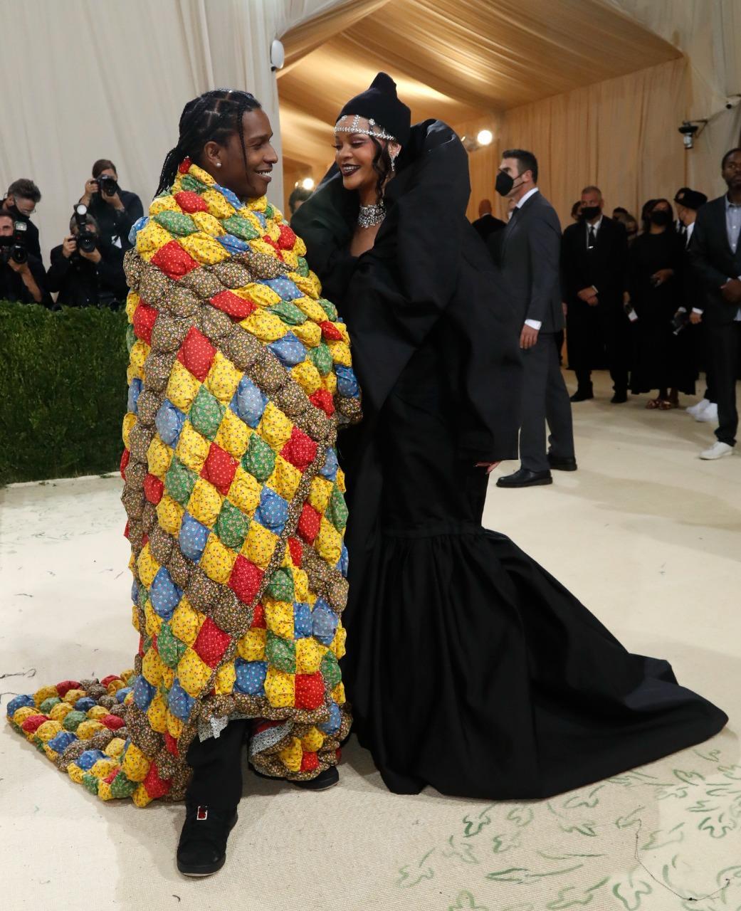 Rihanna's fashionably late entry, Lil Nas X's gold armor, Alexandria Ocasio-Cortez's statement attire… Met Gala 2021 was a glam show