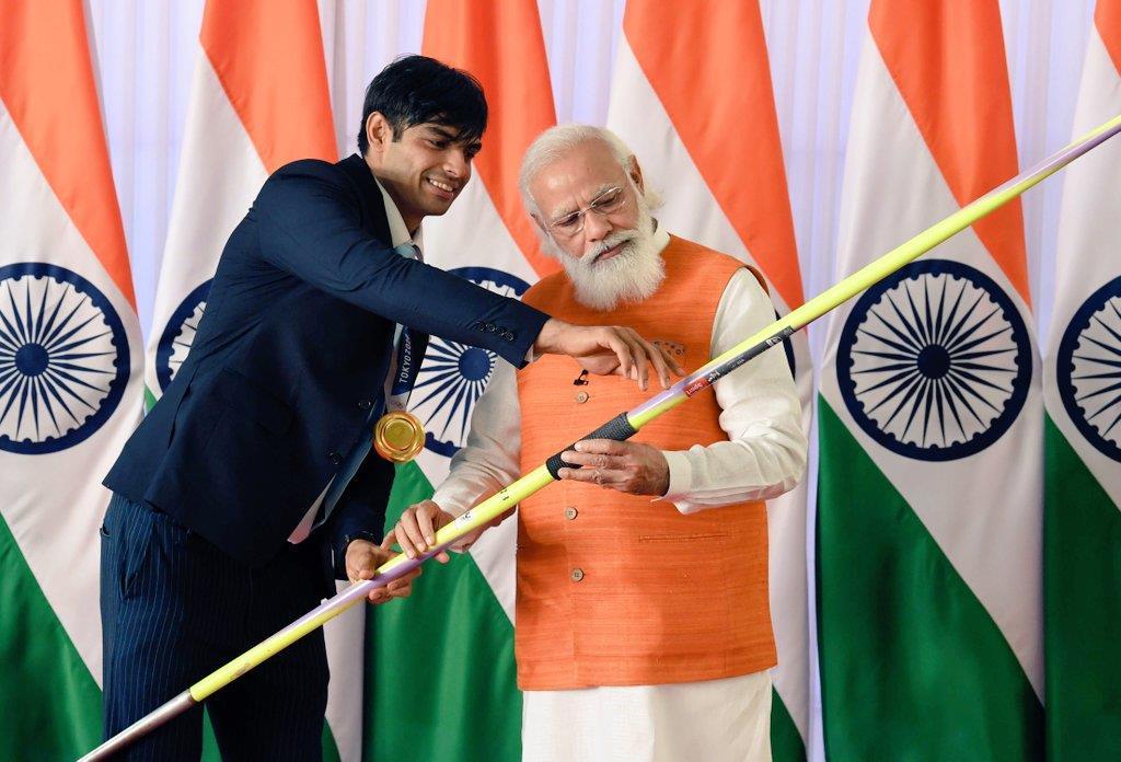 PM Modi turns 71; Dalai Lama, Rahul Gandhi extend wishes; auction of Neeraj Chopra's javelin to mark birthday