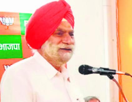 Harinder Singh Kahlon's speech puts BJP in spot