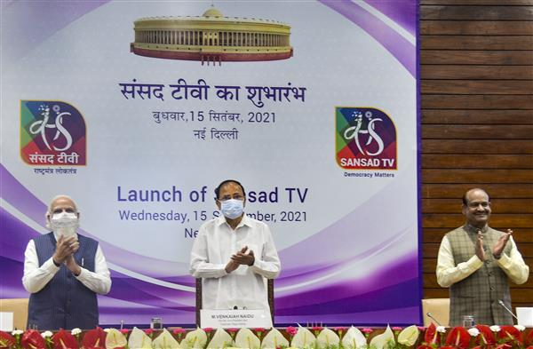 Parliament more about policy than politics: PM Modi at Sansad TV launch