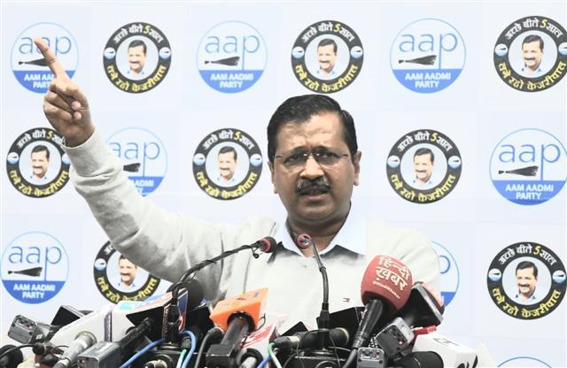 Arvind Kejriwal re-elected as AAP National Convenor