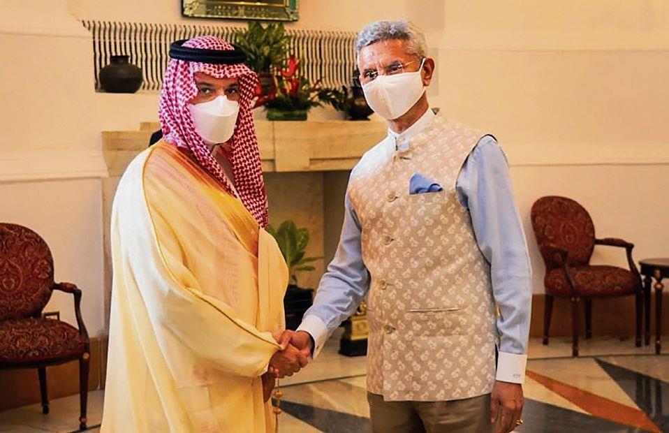 Jaishankar, Saudi FM talk Covid curbs, Afghanistan