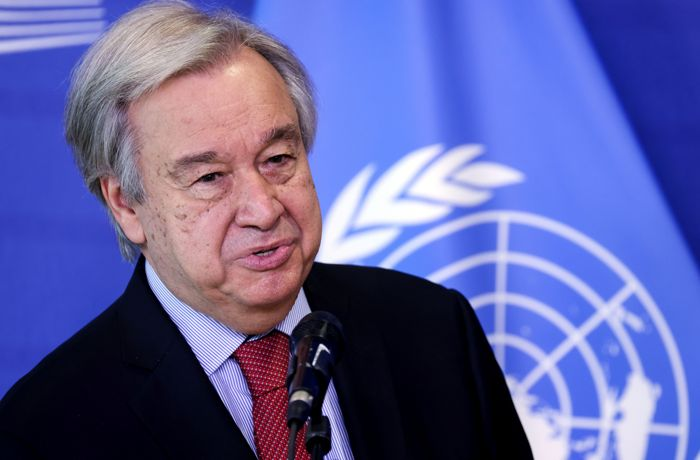 Afghans face their most perilous hour: Guterres