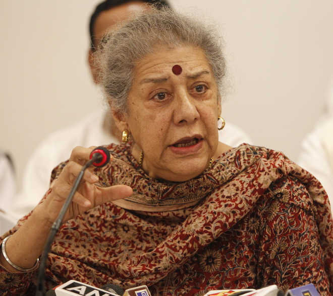 'Punjab Chief Minister must be Sikh leader', Ambika Soni rejects offer to head state