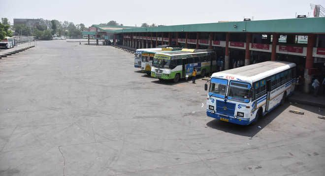 Bus stands in Punjab shut for 2 hours today