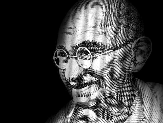 Photos of Mahatma Gandhi's visit to Shimla on display