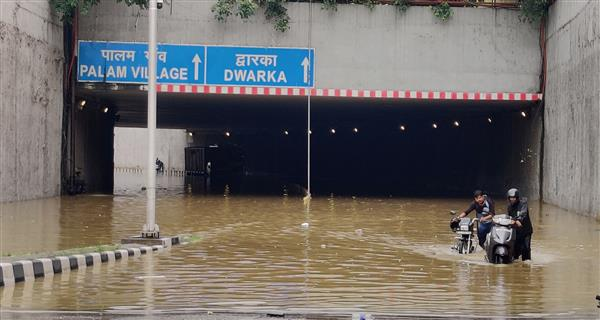 Delhi: 40 passengers rescued from bus trapped at waterlogged underpass after rain