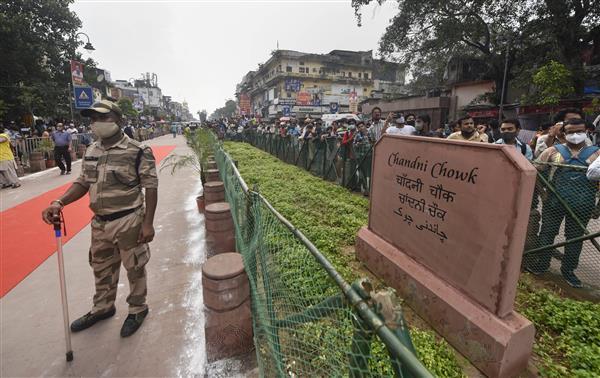 Revamped Chandni Chowk stretch dedicated by Delhi CM Kejriwal