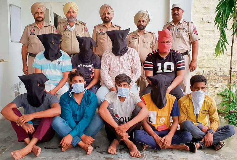 9 of robbers' gang arrested in Patiala