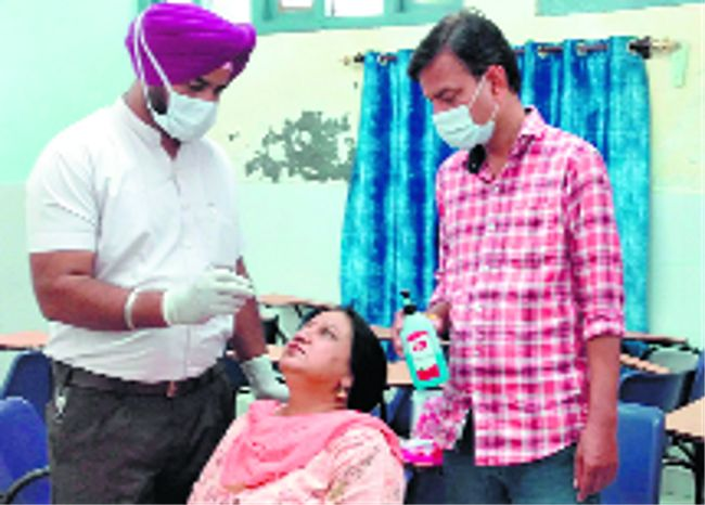 Over 15K jabbed in a day in Patiala