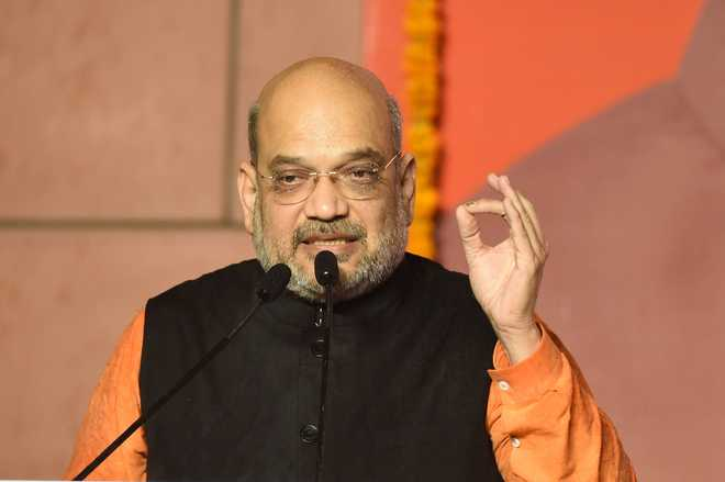 Amit Shah reviews  J&K security  after Kabul's fall