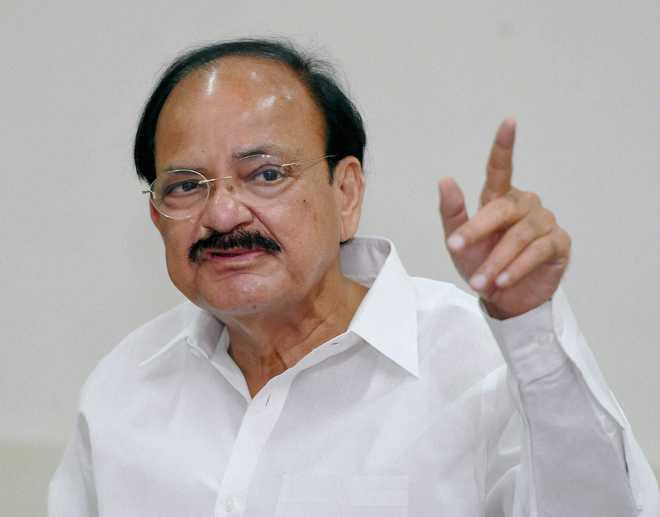 Vice President Naidu felicitates Haryana Paralympians